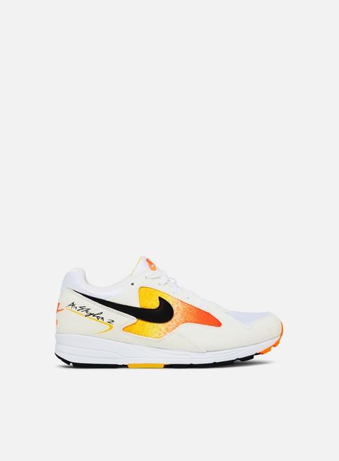 sneakers nike air skylon ii white black amarillo