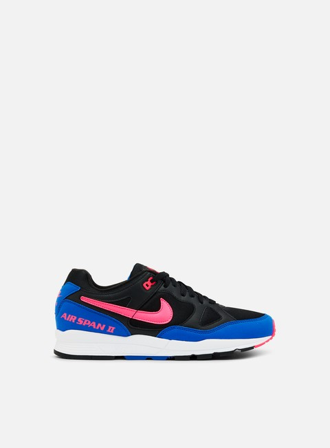 sneakers nike air span ii black hyper pink hyper royal