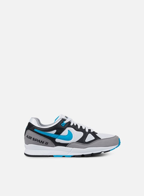 sneakers nike air span ii black laser blue dust