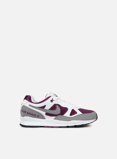 sneakers nike air span ii white dust bordeaux