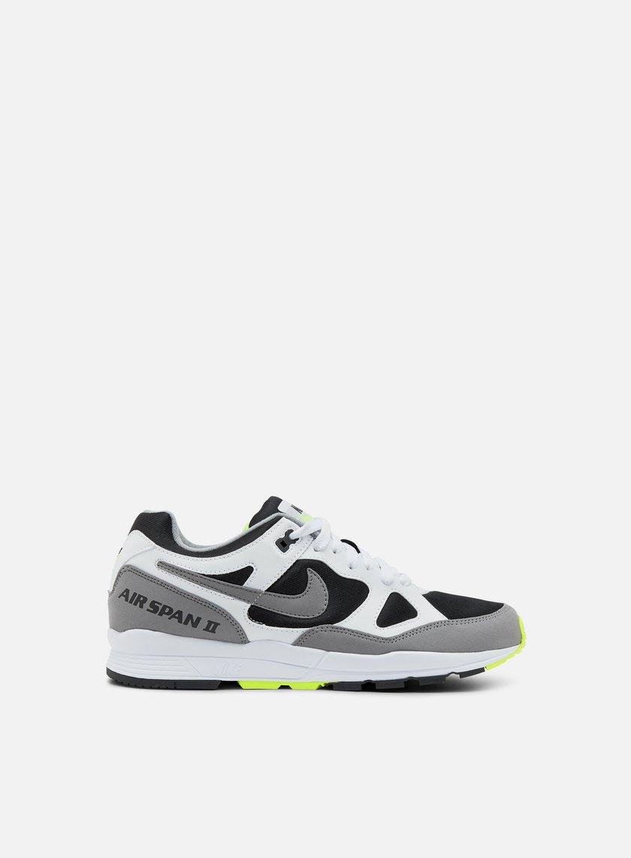 Nike Air Span II White/ Dust-Volt-Black Finishline Descuento Nuevos Estilos Para La Venta Amplia Gama De Línea Z5pvDPe5c4