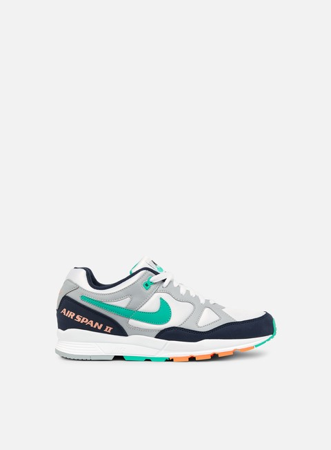 sneakers nike air span ii wolf grey obsidian kinetic green