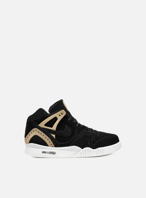 sneakers nike air tech challenge ii black black vachetta tan