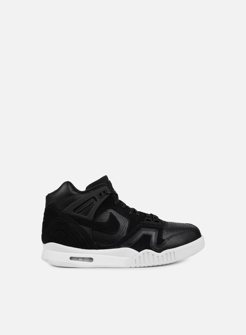 sneakers nike air tech challenge ii laser black black white