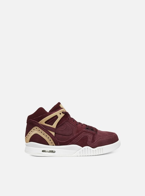sneakers nike air tech challenge ii night maroon night maroon vachetta tan