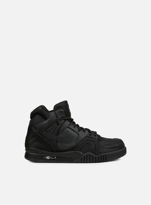 sneakers nike air tech challenge ii se black black metallic silver
