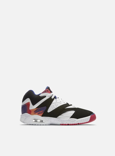sneakers nike air tech challenge iv black white dark grape