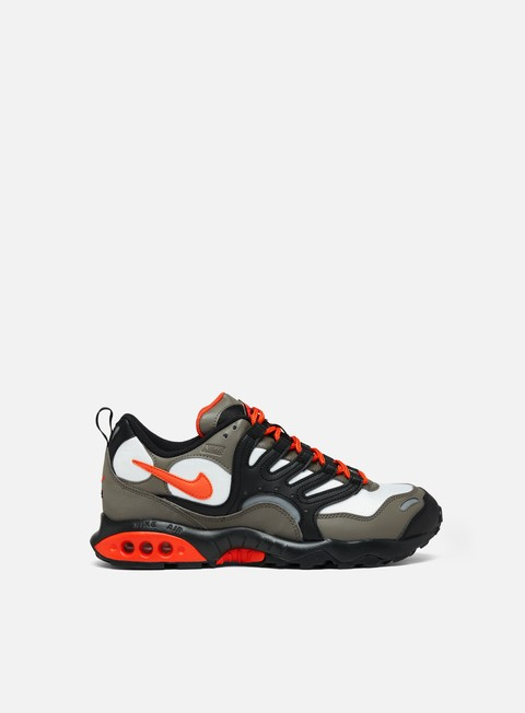 sneakers nike air terra humara olive grey deep orange black