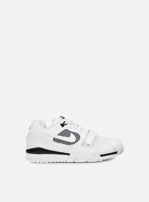 sneakers nike air trainer 2 white white black