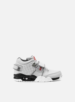 Nike - Air Trainer V Cruz, Wolf Grey/Metallic Silver/Black/Bright Crimson