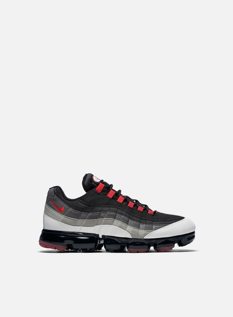 sneakers nike air vapormax 95 white hot red dk pewter