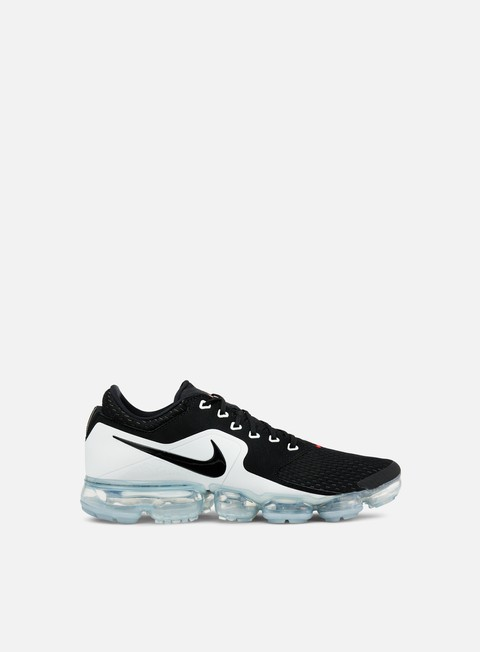 sneakers nike air vapormax black metallic silver white