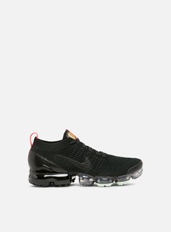 Nike - Air Vapormax Flyknit 3, Black/Black/Igloo