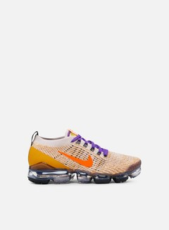 Nike - Air Vapormax Flyknit 3, Desert Sand/Total Orange/Voltage Purple