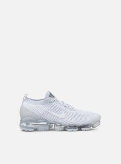 Nike - Air Vapormax Flyknit 3, White/Pure Platinum/Metallic Silver/White