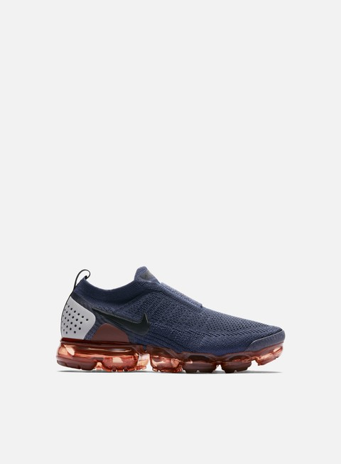 sneakers nike air vapormax flyknit moc 2 thunder blue black terra blush