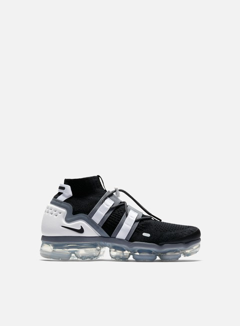 sneakers nike air vapormax flyknit utility black black cool grey white