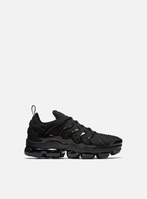 sneakers nike air vapormax plus black black dark grey