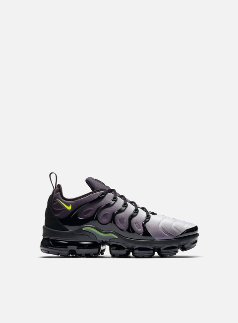sneakers nike air vapormax plus black volt white