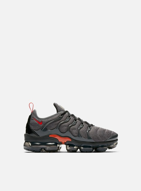 sneakers nike air vapormax plus cool grey team orange