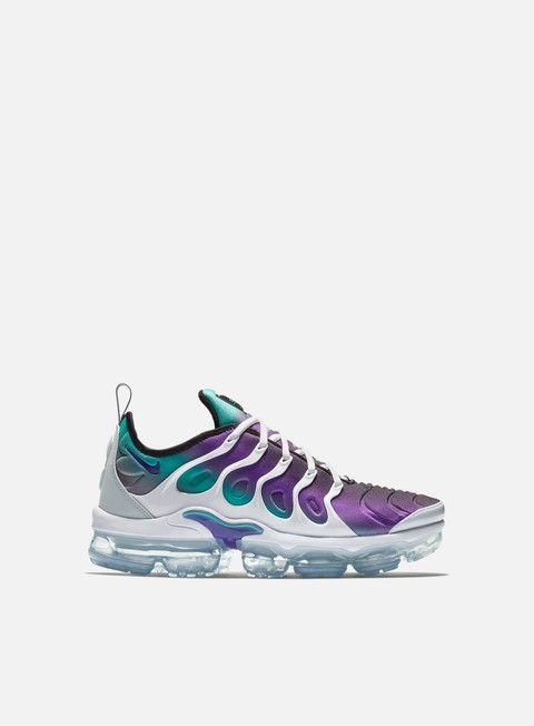 sneakers nike air vapormax plus white fierce purple