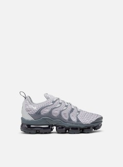 Nike - Air Vapormax Plus, Wolf Grey/White/Dark Grey/Team Orange