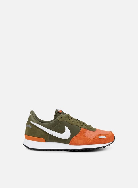 sneakers nike air vortex medium olive white terra orange