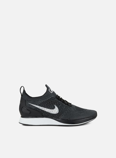 sneakers nike air zoom mariah flyknit racer black white dark grey