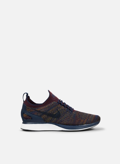 sneakers nike air zoom mariah flyknit racer college navy bordeaux