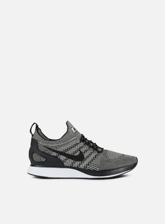 Nike - Air Zoom Mariah Flyknit Racer, Pale Grey/Black/Solar Red