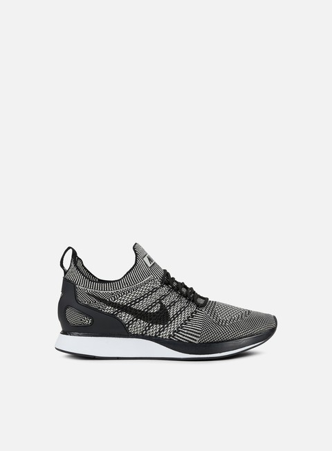 sneakers nike air zoom mariah flyknit racer pale grey black solar red