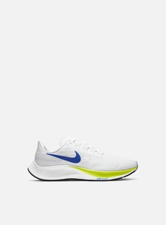Nike - Air Zoom Pegasus 37, White/Racer Blue/Cyber/Black