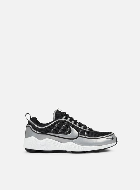 sneakers nike air zoom spiridon 16 black metallic silver
