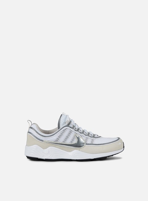 sneakers nike air zoom spiridon 16 white metallic silver