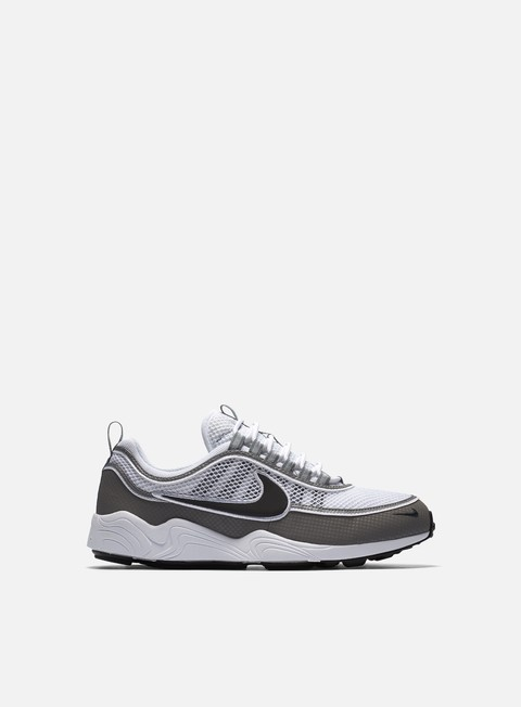sneakers nike air zoom spiridon white black light ash