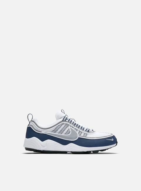 sneakers nike air zoom spiridon white silver light midnight