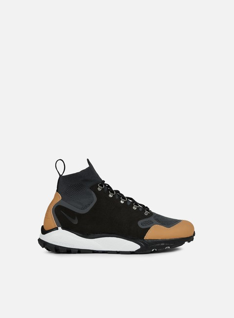 sneakers nike air zoom talaria mid fk prm antharcite black vacchetta
