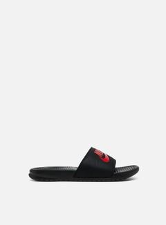Nike - Benassi JDI, Black/Challenge Red