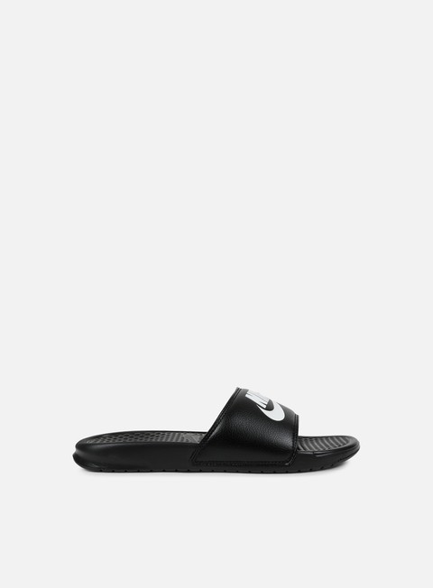 sneakers nike benassi jdi black white