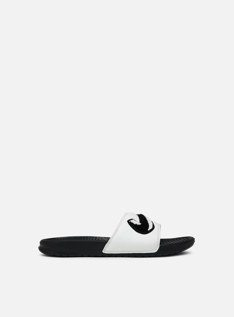 sneakers nike benassi jdi chenille black summit white