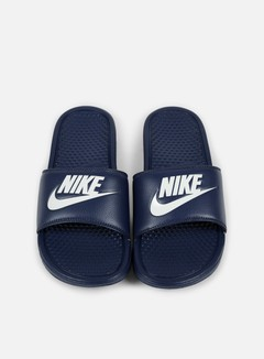 Nike - Benassi JDI, Midnight Navy/Windchill 3