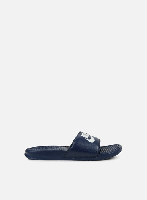 sneakers nike benassi jdi midnight navy windchill