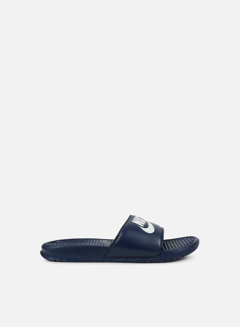Nike - Benassi JDI, Midnight Navy/Windchill