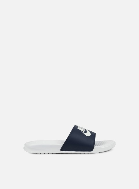 sneakers nike benassi jdi mismatch midnight navy white