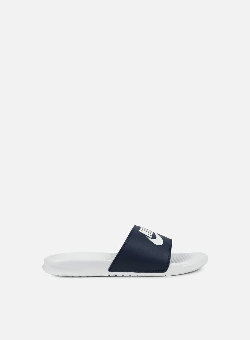Nike - Benassi JDI Mismatch, Midnight Navy/White