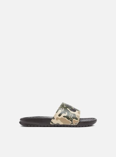 sneakers nike benassi jdi print velvet brown velvet brown