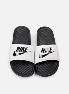 Nike - Benassi JDI, White/Black/Black 3
