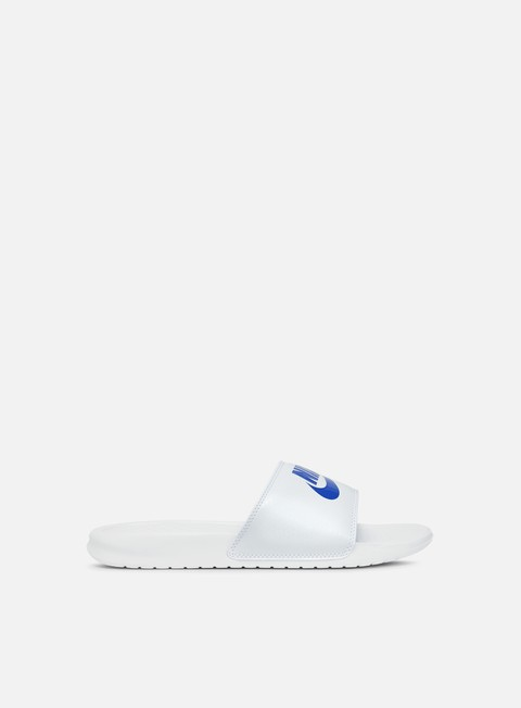 sneakers nike benassi jdi white varsity royal white
