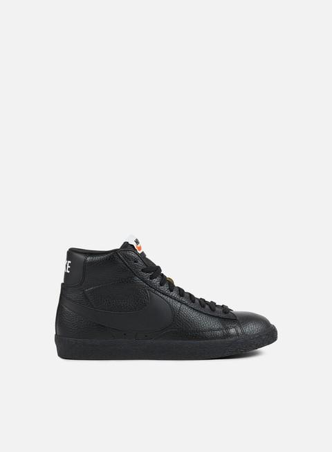 sneakers nike blazer mid prm black white