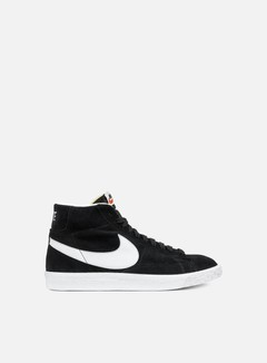 Nike - Blazer Mid PRM, Black/White/Gum Light Brown 1